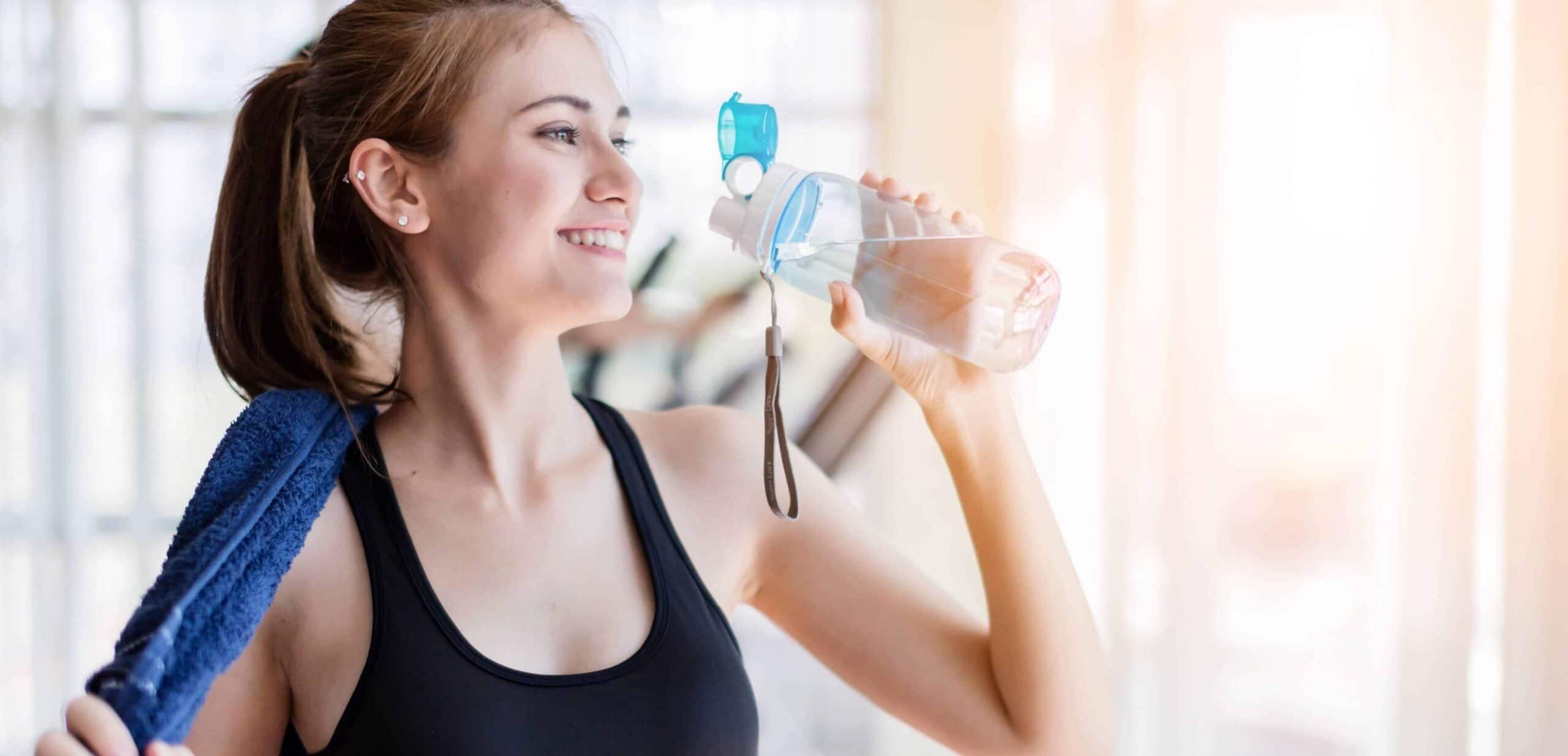 Composizione corporea acqua palestra