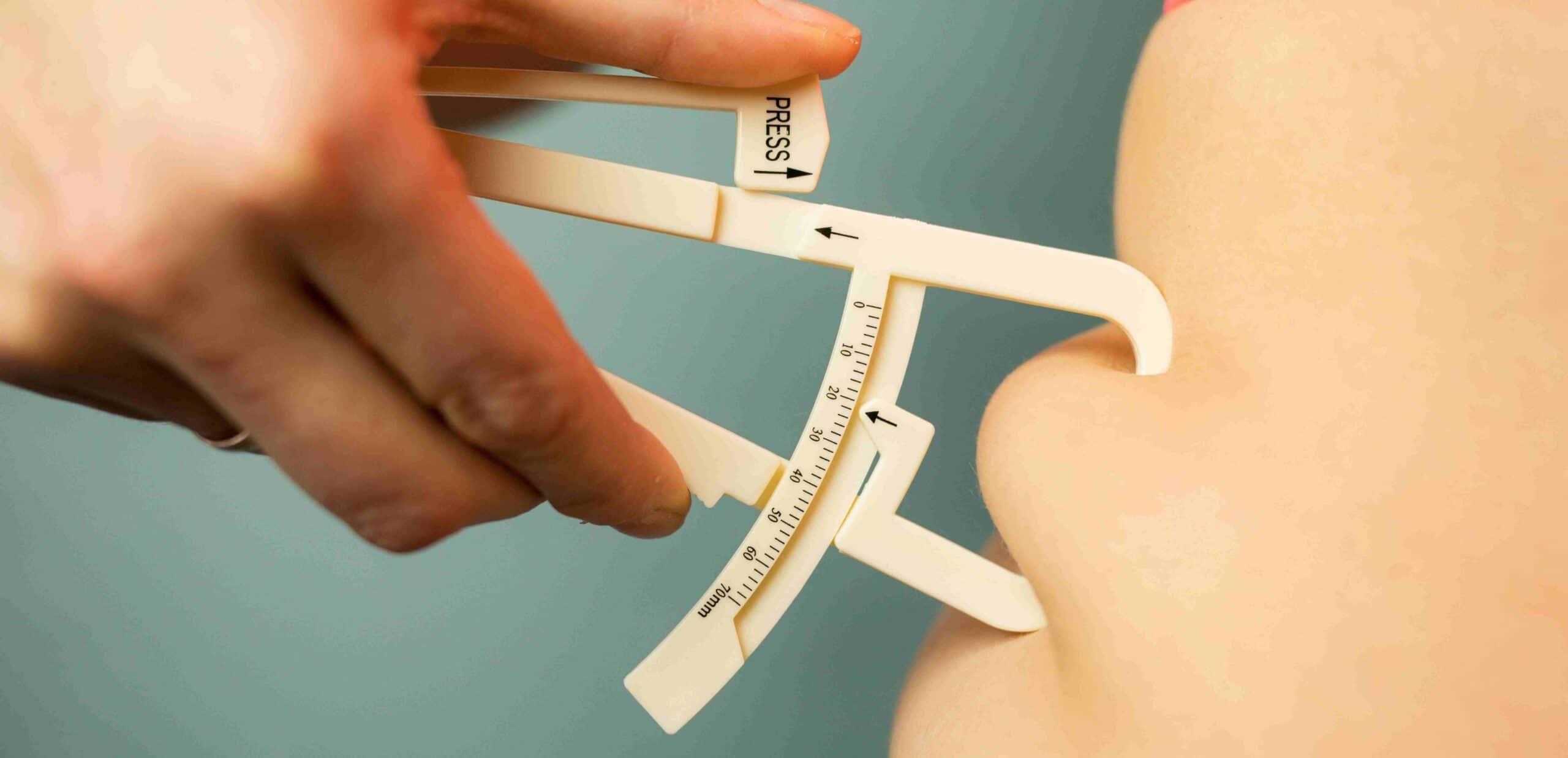 plicometro analisi composizione corporea