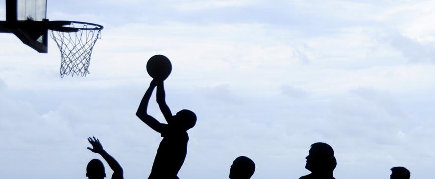 addominali nel basket