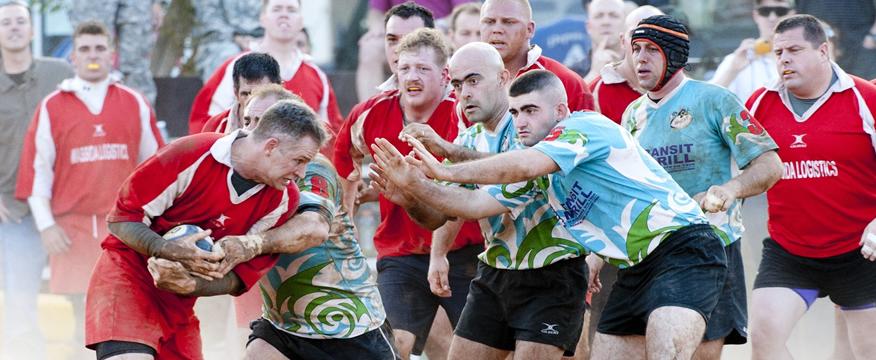 addominali nel rugby