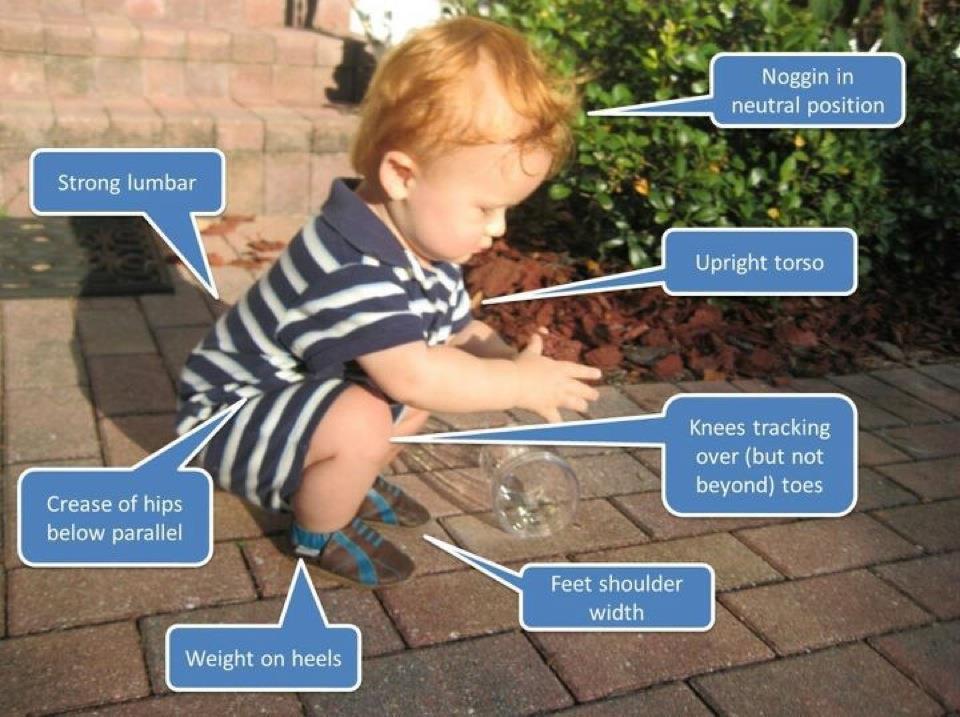 natural squat