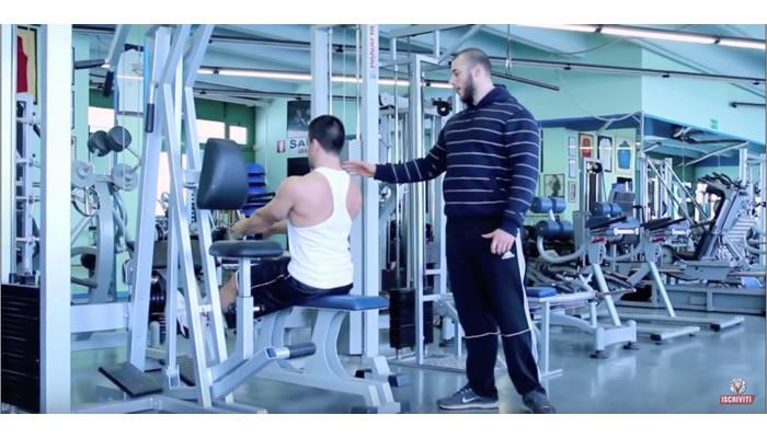 Pulley allenamento gran dorsale