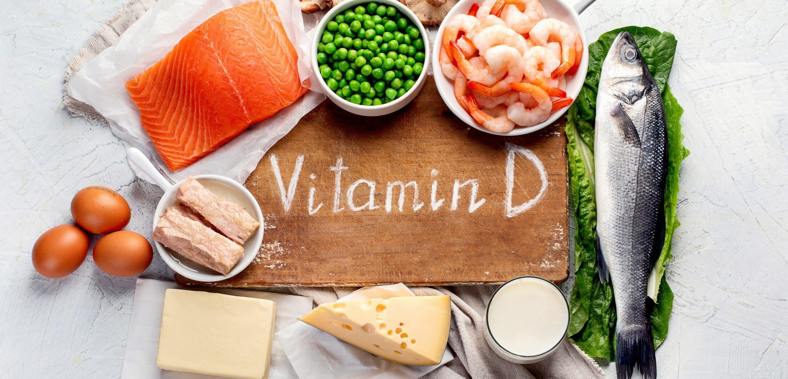 vitamina d e alimenti nella dieta