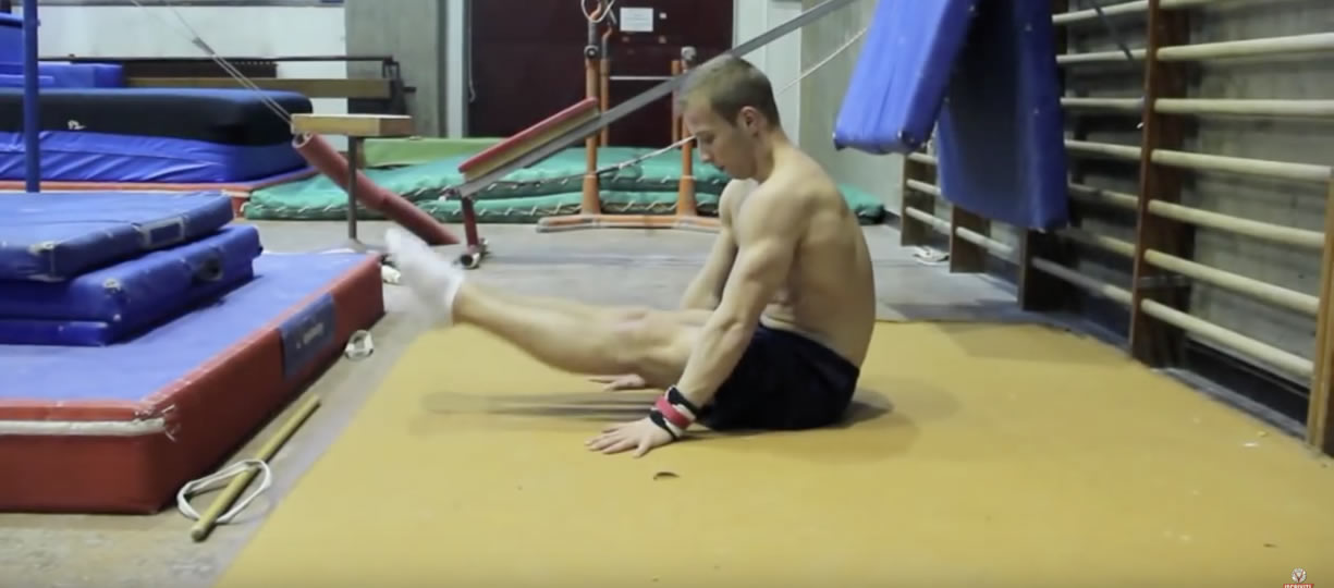esercizi ginnastica addominali