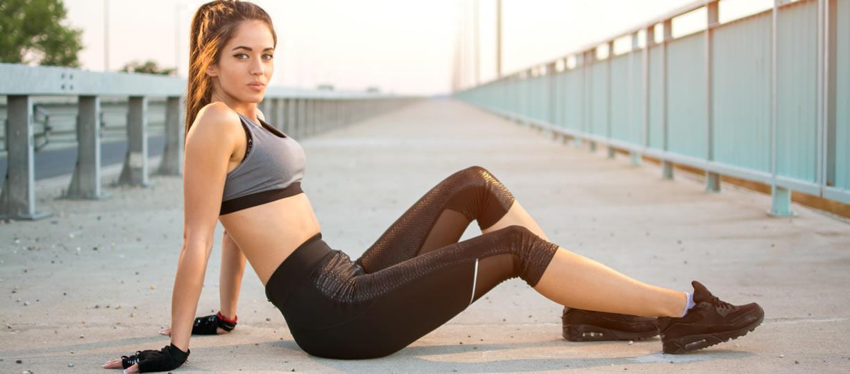 sit up riposo tra l'esercizio