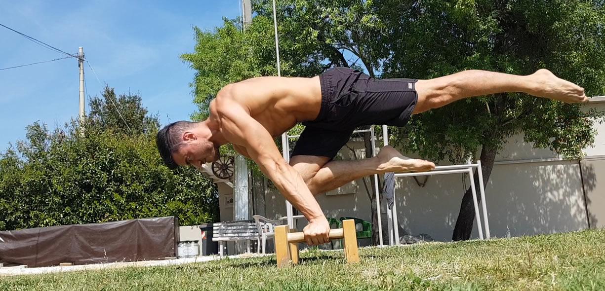one leg planche