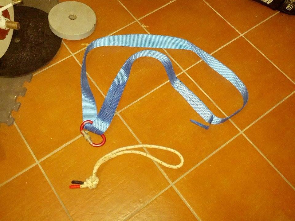 Cintura trazioni homemade