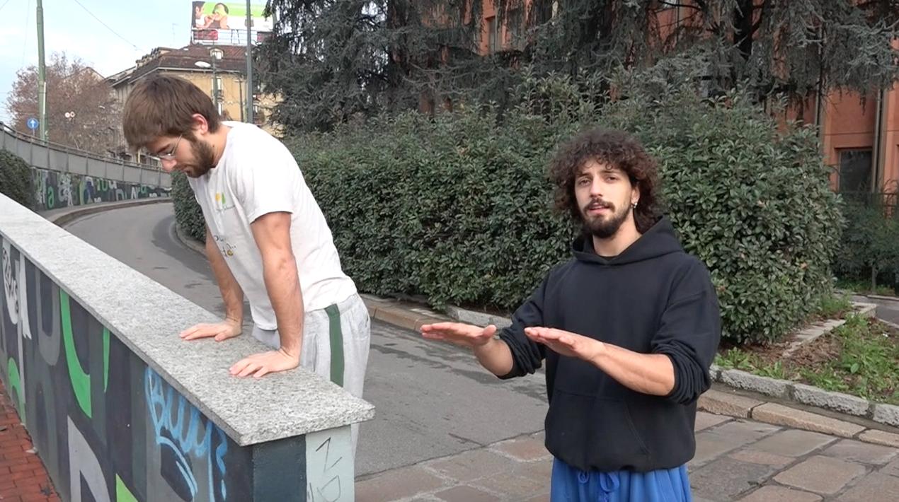 Step Vault appoggio mani