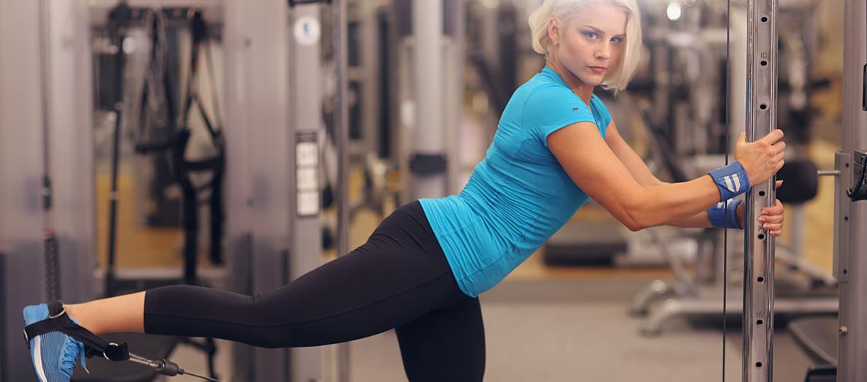 esercizi per snellire gambe e glutei