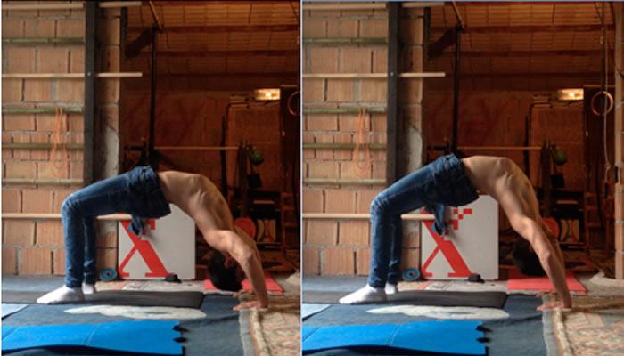 Il Ponte, per una schiena, collo ed un corpo superiore (Movimenti primordiali)
