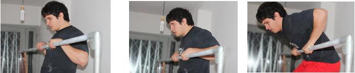 Muscle up transizione sbarra