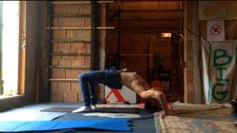 Stretching ponte avanzato