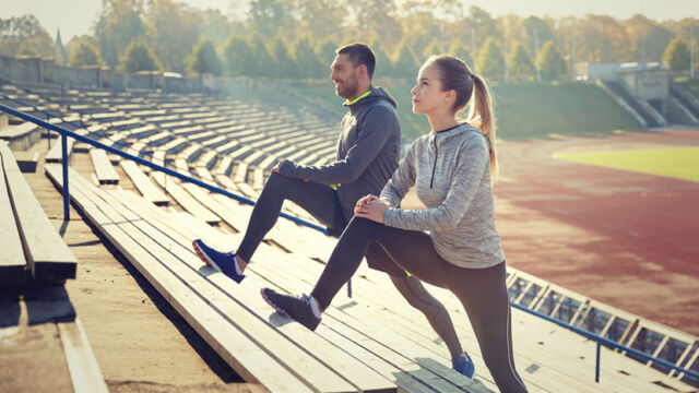 stretching e cardio