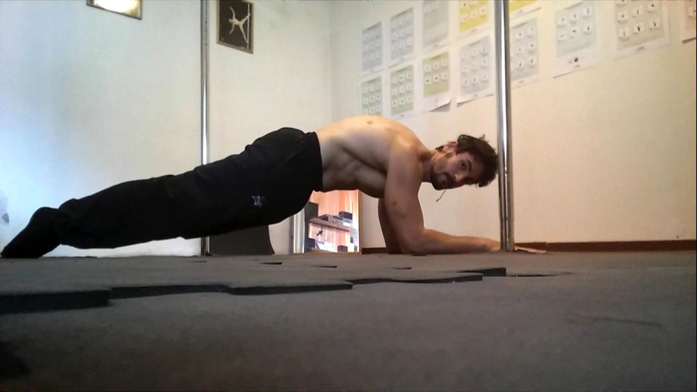 Posizione plank