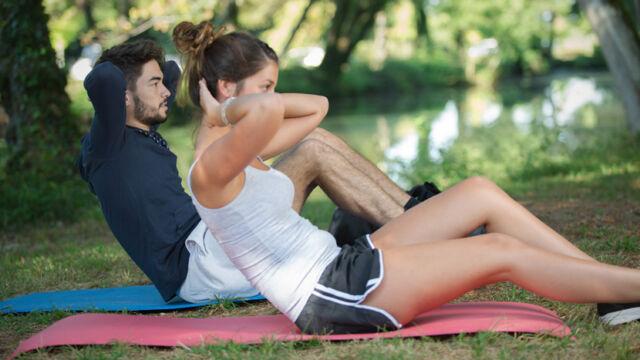 attività fisica nell'uomo e nella donna