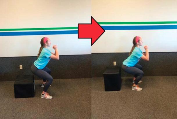 Box squat 2