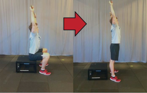 Overhead squat box