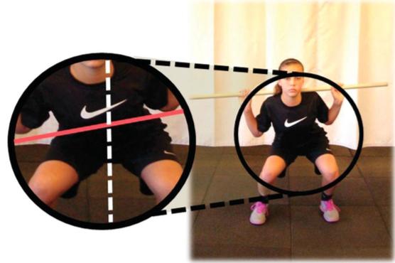 Posizione scorretta anca squat