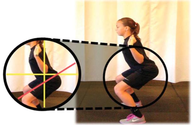 Profondità scorretta squat