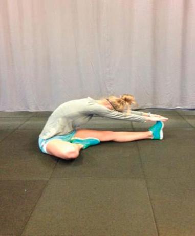 Stretching ischio-crurali