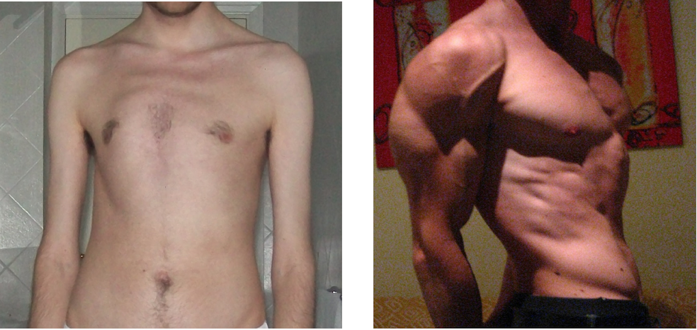 Differenza composizione corporea
