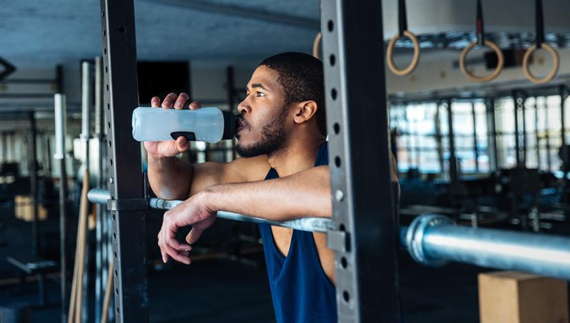 Reidratazione durante l'allenamento