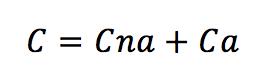 Formula costo energetico