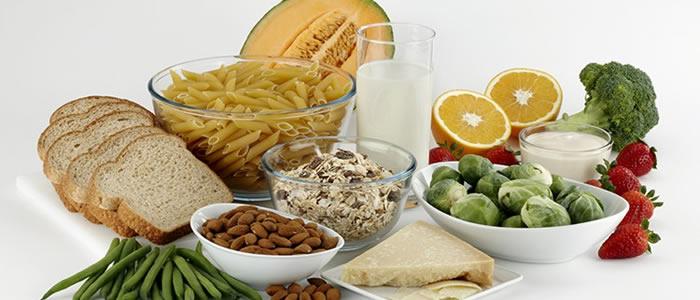 Varietà fibre alimentari