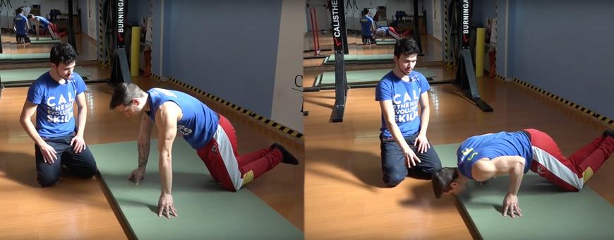 epitrocleite esercizi stretching