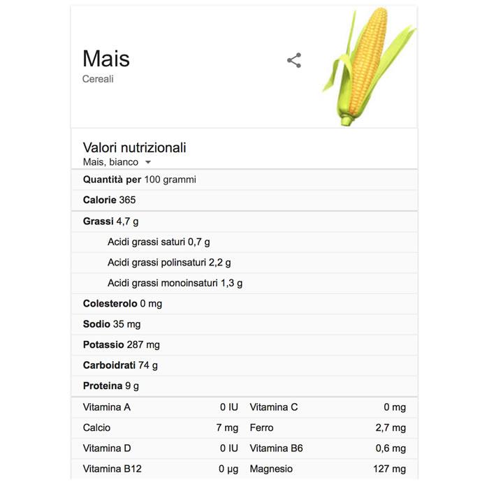 mais-valori-nutrizionali