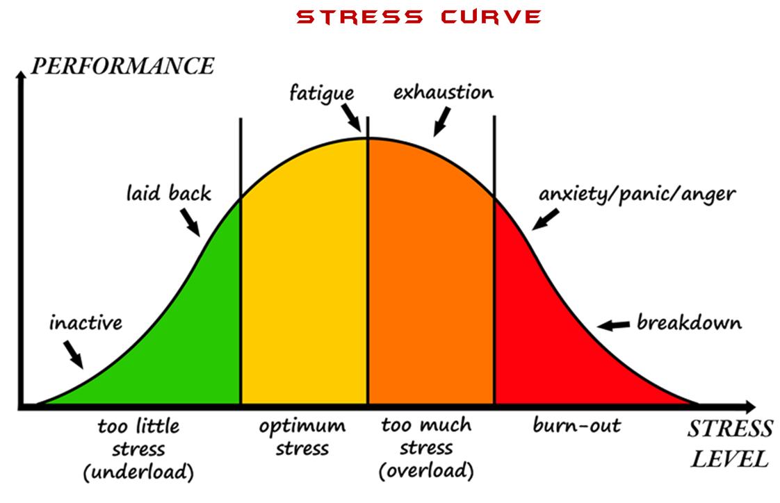 curva allenamento stress