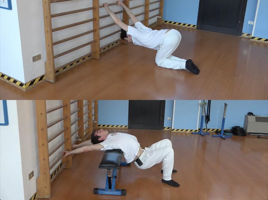 mobilità spalle