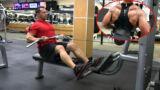 Allenare i muscoli carenti della schiena