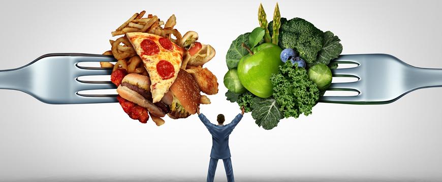mente e cibo