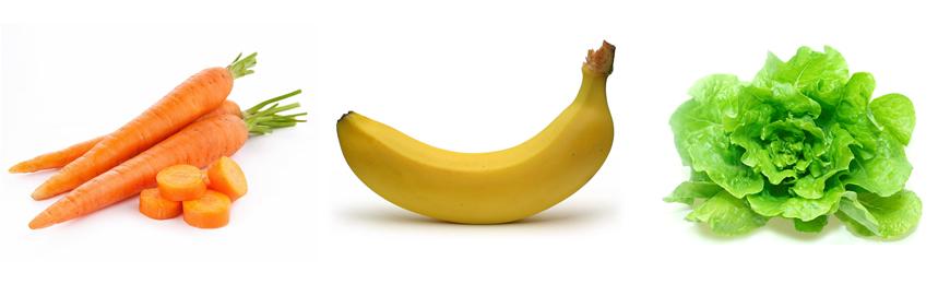zuccheri frutta verdura