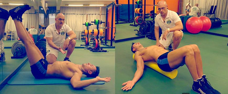 postura bodybuilding