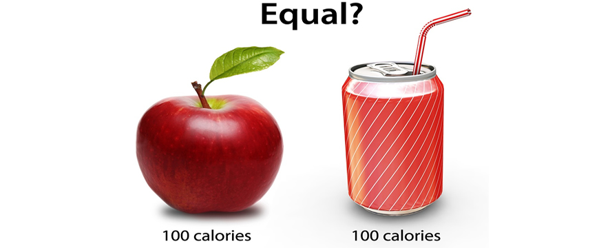 una caloria è una caloria