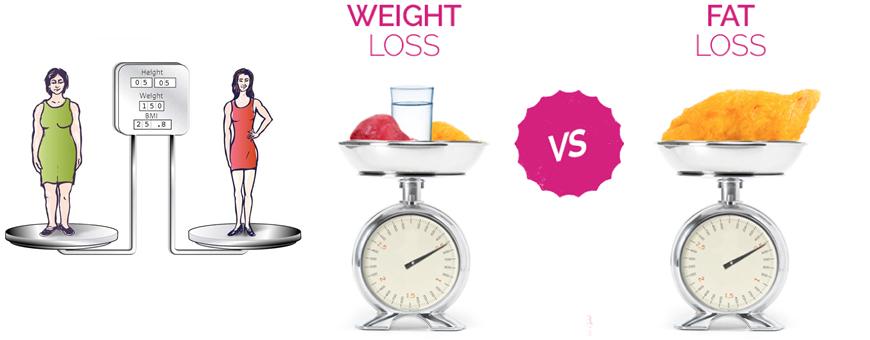 dimagrimento o perdita di peso