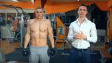 Esercizi trapezio superiore: lo Shrug