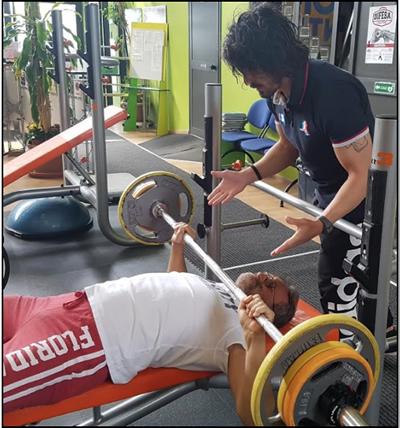 allenamento anziani