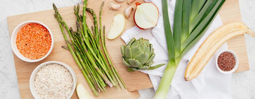 alimenti ricchi di prebiotici