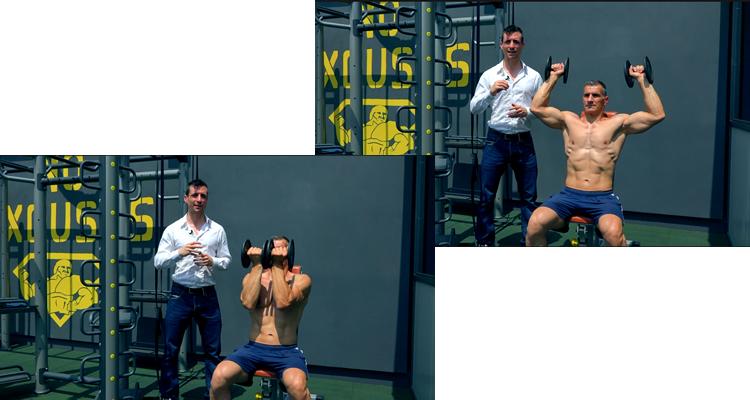Arnold press esercizio