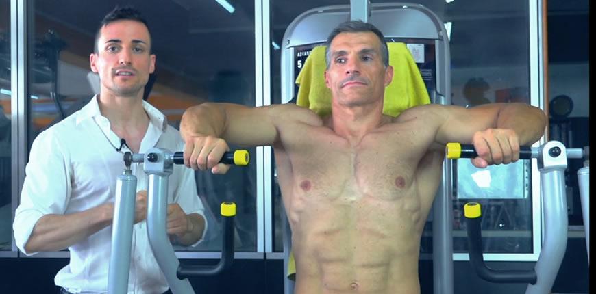 chest press pettorali