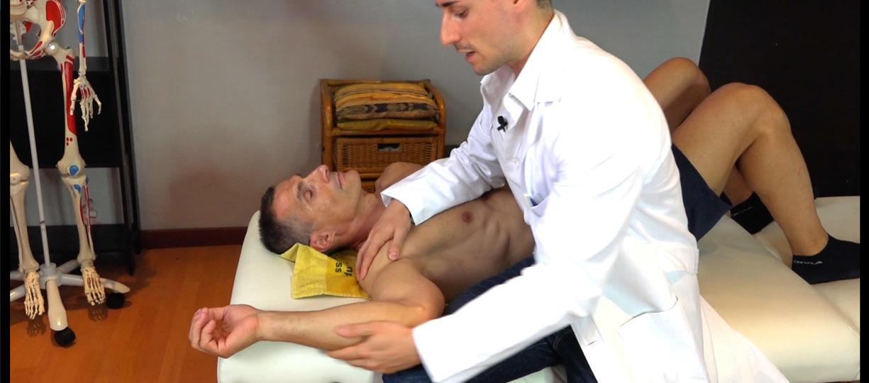Test extrarotazione spalla