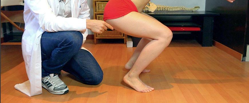 caviglia squat