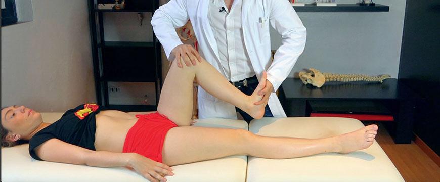 fisioterapia caviglia