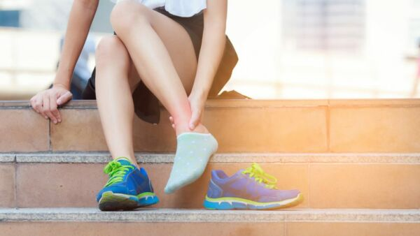 dimagrimento di caviglie e ginocchia