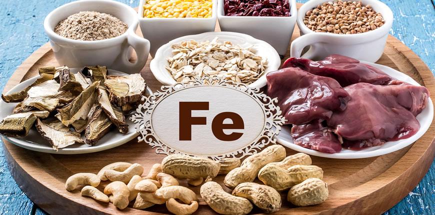 ferro alimenti