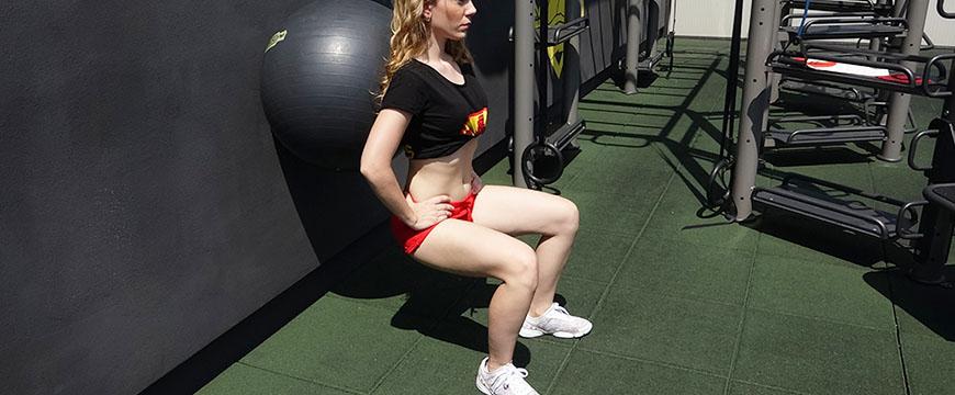 squat palla