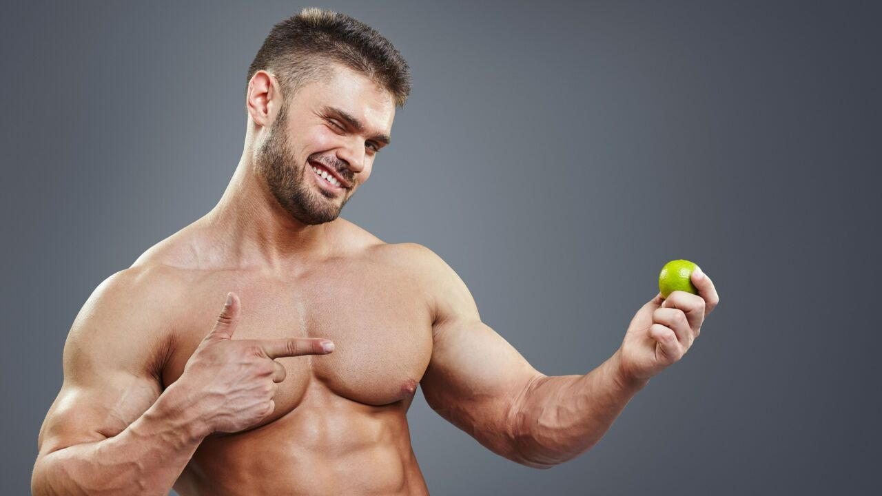 Dieta per la definizione per il bodybuilding e la palestra